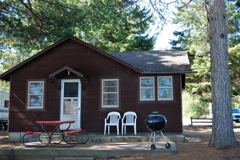 cabin rental madeline lake woodruff near minocqua